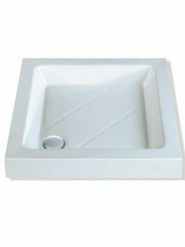 MX CLASSIC 1000X1000 SQUARE SHOWER TRAY INCLUDING WASTE